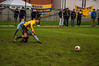 Marske United (nonleaguepap) Tags: marske united fc bradford town avon somerset north east northern league green grass pitch white line football footballers fans yellow blue dark boots shirts shorts fa vase february 2018 non goal saturday action shots teeside