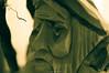 The Trouble I've Seen (mslabrat13) Tags: macromonday carving monochrome wood man 7dwf macro