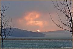 Die Dunkeltour ist zu Ende ... (der bischheimer) Tags: sonnenaufgang bischheim haselbachtal lausitz sachsen saxonie sony derbischheimer