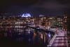 Ericson Globe (Christopher Anderzon) Tags: stockholm ericson globe ericsonglobearena hammarbysjöstad water reflection color