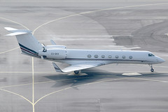 NetJets Europe Gulfstream 550 CS-DKK (c/n 5201) (Manfred Saitz) Tags: vienna airport schwechat vie loww flughafen wien netjets gulfstream 550 glf5 csdkk csreg