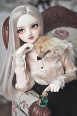 Lily (Ribbonfiend) Tags: volks doll superdollfie fcs f63 bjd abjd