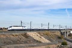 Back to the 90's (ɢ. ʙᴇʀᴇɴɢᴜᴇʀ [ ō-]) Tags: 100 100011 renfe ave lav valencia train railway railroad blue