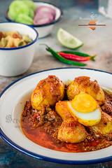 Duck Egg Curry Bengali style (Rimli D) Tags: foodstyling foodblog foodphotography foodpicture foodblogger foodporn food festivalfood bengali indianfood iamnikon indianstaples bengalifood bengalicurry bangladeshifood comfortfood colours dimkosha