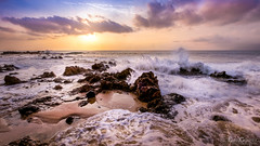 Rocks and Waves (Evan Gearing (Evan's Expo)) Tags: hawaii kamaolebeachparkii kihei rocks waves crashing pacific hi