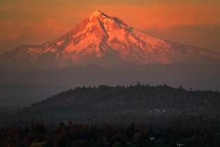 Last Light, Mount Hood