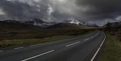 The Road to Snowdon (Explored) (g3az66) Tags: theroadtosnowdon a4086 mtsnowdon snowdonianationalpark snowdonia wales road sunlight mountain snow