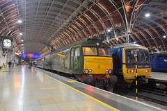 The Sleeper to the west (daveymills37886) Tags: gwr great western railway class 57 576 57604 london paddington