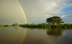 Arcoiris sobre el río San Javier (hugoramse) Tags: arcoiris rainbow rio agua river nature landscape