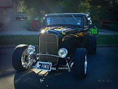 Hot Rod from Texas (novice09) Tags: backtothefifties carshow ford coupe 1932 ipiccy hotrod