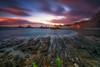 Gueirua (ALFONSO1979 ) Tags: landscape sunset travel new lights colors sunrise rocks clouds ruver river flickr water moon sun winter seascape instant longexposure amazing beautiful coast