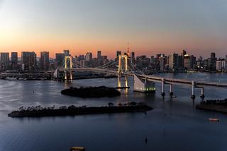 Rainbow Bridge, Minato, Tokyo, Japan
