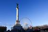 Le monument des Girondins et la grande roue (2) (Ezzo33) Tags: france gironde nouvelleaquitaine bordeaux ezzo33 nammour ezzat sony rx10m3 ville monument paysage girondins roue place quinconces