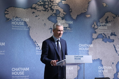 Bruno Le Maire, Minister of the Economy and Finance, France