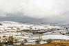 DSC_0063. - Above Hawes, into Wensleydale (SWJuk) Tags: swjuk uk unitedkingdom gb britain england yorkshire northyorkshire yorkshiredales dales wensleydale hills hillside dale valley landscape countryside fields farmland drystonewalls trees weather snow snowfall path footpath pennineway panorama clouds cloudy winter 2018 feb2018 holidays nikon d7100 nikond7100 35mm rawnef lightroomclassiccc