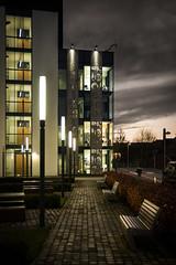 Life Science (Neillwphoto) Tags: life science school university dundee night light dark