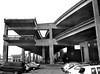 Embarcadero Freeway, San Francisco 1990 (Dave Glass . foto) Tags: sanfrancisco embarcaderofreeway embarcadero lomaprietaearthquake elevatedfreeway freeway concrete parking mediumformat fujigs645s