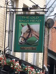Pub Sign - The Old Nags Head, Jackson's Row, Manchester 171209 (maljoe) Tags: pubsign pubsigns publichouse pub pubs inn inns tavern taverns