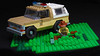 Lego Stranger Things - Chief Hopper's car (hachiroku24) Tags: lego stranger things chief hopper chevrolet blazermoc afol instructions moc