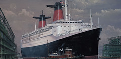 SS France (71B / 70F ( Ex Jibup )) Tags: ssfrance liner painting classic newyorkharbour