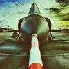 F106 views (Ruud Otter) Tags: vliegtuig abstract nationaalmilitairmuseum f106 iphone airplane