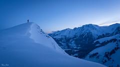 Before work (Frédéric Pactat) Tags: d 750 20 mm f 18 f18 nikon d750 afs ed nikkor fx 20mm f18g mountain montagne aravis mont blanc haute savoie ski touring randonnée alpine alpes alps snow sport extérieur paysage neige ridge