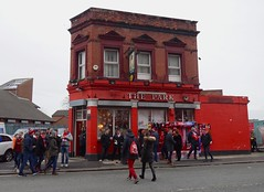 The Park pub, Liverpool FC, Anfield, December 2017 (sbally1) Tags: liverpool lfc liverpoolfc football premierleague epl regeneration stadium anfield theparkpub