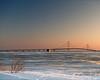 A Cold Big Mac (In Wonder Photo) Tags: mackinac bridge straits lakemichigan ice snow water nikon d850 markadsit