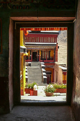 Doorkijkje, Ladakh India - kopie