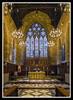 St Mary's Melton Chancel (veggiesosage) Tags: leicestershire fujifilm fujifilmx20 x20 walk meltonmowbray church stmarys grade1listed