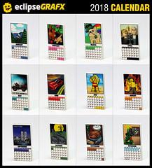 2018 Calendar (eclipseGrafx) Tags: movie poster love cry eclipsegrafx eclipsebricks calendars calendar