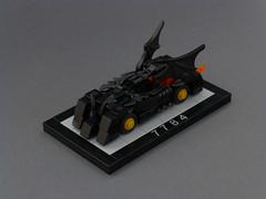 Micro 7784 Batmobile (Brixe63) Tags: lego 7784 batmobile batman brickset contest 60yearslego joker superheroes dccomics timewarner marvel car 4wide auto