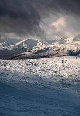 Snowmageddon (Sarah_Brooks) Tags: mountains snow snowstorm cloud winter slopes nevisrange aonachmor highlands scotland meallantslamain