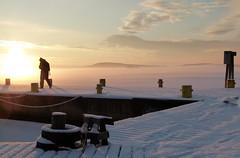 Sunrise (evisdotter) Tags: sunrise morning sun sunny light winter snow landscape slemmern sjökvarteret mariehamn