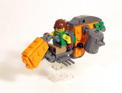 Recyclenator6 (Shmails) Tags: lego speeder bike contest district 18