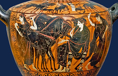 Greek vase 023 Dionysos et Ariadne, detail 13bs - BNF de Ridder 257 (petrus.agricola) Tags: greek vase painting gods homer bnf collection