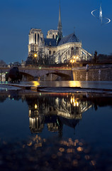Notre Dame | Paris (www.didierbonnettephotography.com) Tags: bleue blue heurebleue bluehour poselongue longexposure le paris notredame france crue2018