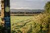 Early morning emptiness (Nodding Pig) Tags: yatton westmead rhyne railway train northsomerset england greatbritain uk 2017 morning summer class43 dieselelectric locomotive mtu hst highspeedtrain gwr greatwesternrailway 43030 2y03 201708017283101 oldglass noncpulens nikkor70210lens