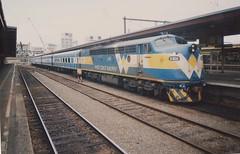 S302 Spencer St (tommyg1994) Tags: west coast railway wcr emd b t x a s n class vline warrnambool geelong b61 b65 t369 x41 s300 s311 s302 b76 a71 pcp bz acz bs brs excursion train australia victoria freight fa pco pcj