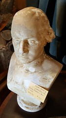 """WASHINGTON"" PLASTER BUST BY PIETRO CAPRONI, BOSTON, C. 1900.  $150. • <a style=""font-size:0.8em;"" href=""http://www.flickr.com/photos/51721355@N02/39626505341/"" target=""_blank"">View on Flickr</a>"