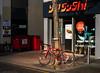 Red bike (RWYoung Images) Tags: rwyoung olympus em1mk11 brighton england bike shop street urban