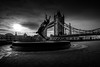 The Fountain (lja_photo) Tags: london uk united kingdom towerbridge silhouette statue sculpture girl dolphin fountain girlwithadolphinfountain theshard shard city clouds contrast cityscape street streetphotography urban travel tourism textures tower bridge water black blackandwhite bw bnw blackandwhitephoto white monochrome monotone monoart moody architecture architectural art fineart building buildings beautyful sky dramatic exploration skyline sunset sun fujixt20
