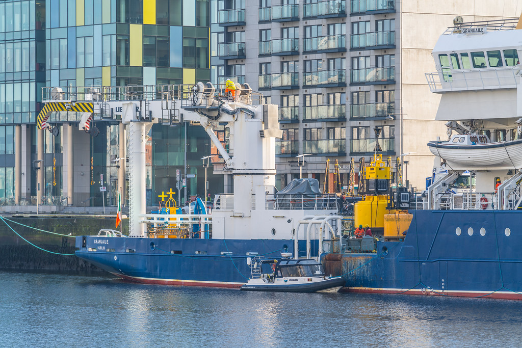 ILV GRANUAILE VISITS DUBLIN [11 JANUARY 2018]-135373
