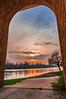 Fenêtre vers l'au-dela, Window to beyond (laurent.smet) Tags: couchédesoleil paysage sunset landscape