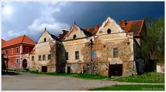 Schloss Stihalau (Christoph Bieberstein) Tags: castle tschechien böhmen plzeňský kraj česko ceská republika bohemia czech republic stihalau šťáhlavy schloss zámek renaissance giebel