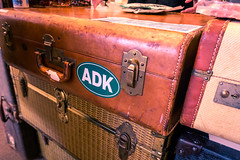 ADK Bound (Pixeleyes) Tags: 2018 lakeplacid winter suitcase luggage travel trip vacation vintage leather wicker adirondaks mountains high peaks olympicvillage