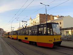 Konstal 105Na, #1246+1246, Tramwaje Warszawskie (transport131) Tags: tram tramwaj tw ztm warszawa wtp warsaw konstal 105na