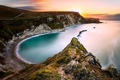 Durdle Door (socreative) Tags: dorset durdle door jurassic coast rocks cliffs seascape sunrise sky clouds sun beautiful landscape uk england britain