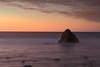Stand Alone (Darren Schiller) Tags: hallettcove adelaide rock sea ocean longexposure beach coast shore sunset dusk southaustralia