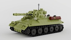 OP-34 (John Moffatt) Tags: lego tank digital designer render blender army t34